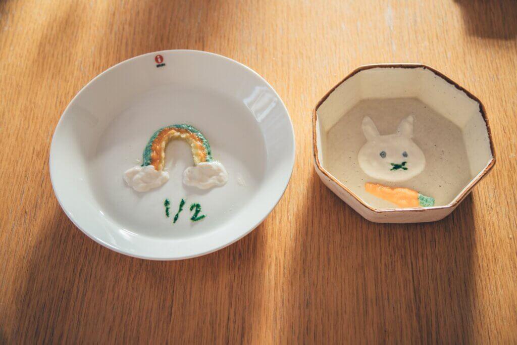 ハーフバースデーの簡単離乳食